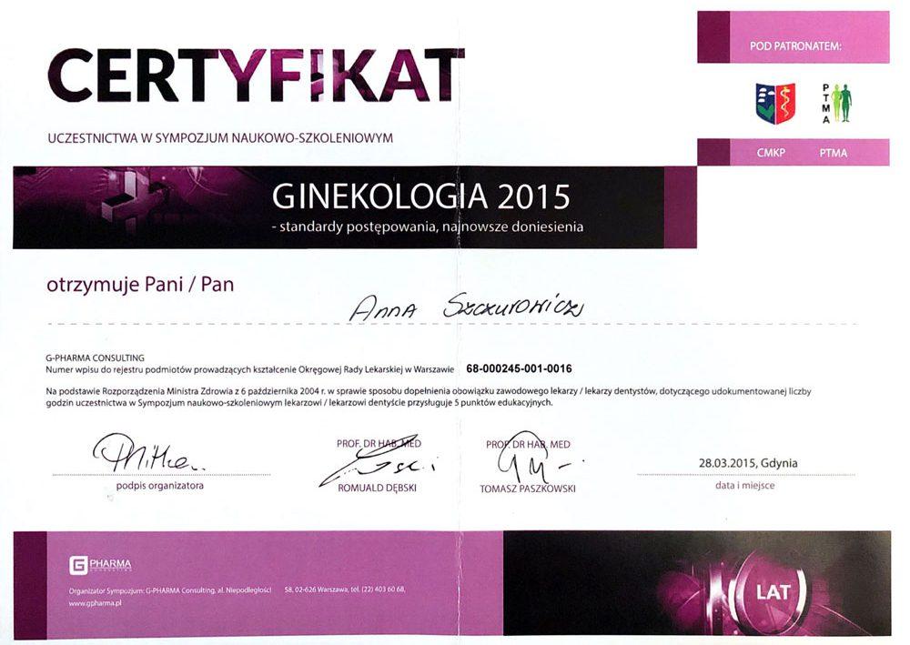certyfikat-ginekologia-2015